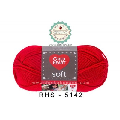 Red Heart Soft #5142 (Cherry Red)